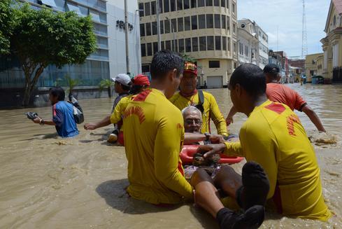 Peru reels from rainy season floods