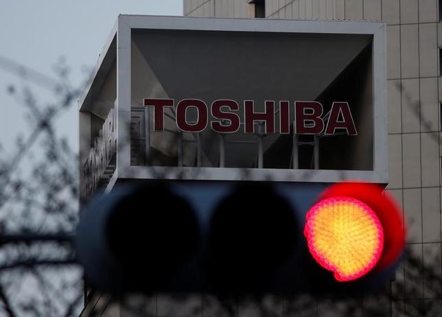 3月29日、東芝が経営危機脱却への切り札として、米原発子会社ウエスチングハウス(WH)の連邦破産法11条の適用申請に踏み切った(2017年 ロイター/Issei Kato)