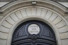 La Caisse des dépôts a annoncé jeudi un résultat net part du groupe en hausse d'environ 30% en 2016, un rebond qui s'inscrit après les dépréciations d'actifs subies l'année précédente par certaines de ses filiales, comme le groupe immobilier Icade. /Photo d'archives/REUTERS/Stéphane Mahé
