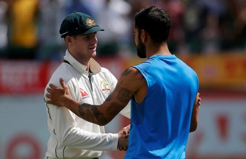 Kohli softens stance on relationship with Australians
