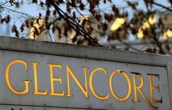 Le groupe minier et de négoce suisse Glencore cherche à vendre un bloc de participations dans son activité de stockage pétroliers. /Photo d'archives/REUTERS/Arnd Wiegmann