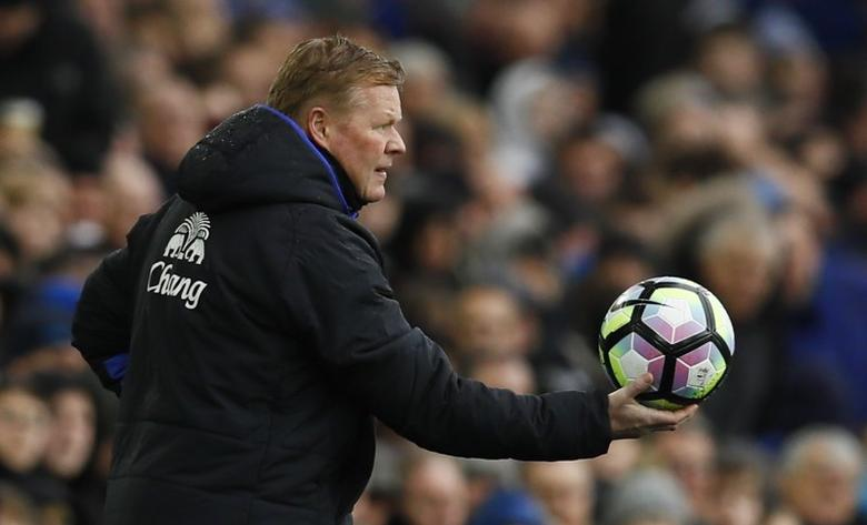 Everton v Hull City - Premier League - Goodison Park - 18/3/17 Everton manager Ronald Koeman Action Images via Reuters / Jason Cairnduff Livepic