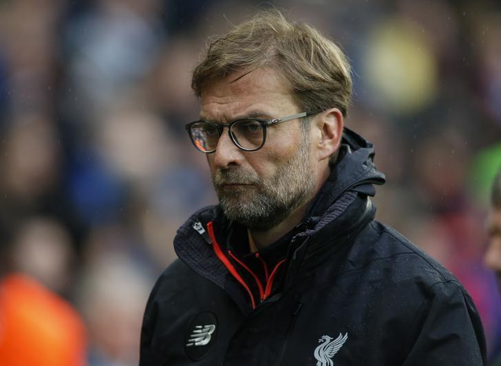 Britain Soccer Football - Manchester City v Liverpool - Premier League - Etihad Stadium - 19/3/17 Liverpool manager Juergen Klopp  Reuters / Andrew Yates Livepic/Files
