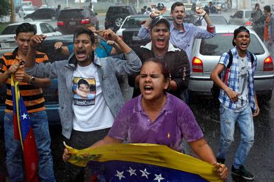 Venezuela's opposition protests as Congress annulled