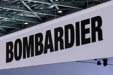 Alain Bellemare, le directeur général de Bombardier, a demandé au conseil d'administration de reporter en 2020 le versement de plus de la moitié de la rémunération totale de 2016 de six dirigeants. /Photo d'archives/REUTERS/Denis Balibouse