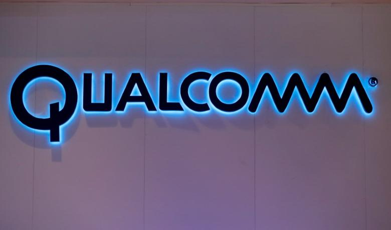 Qualcomm's logo is seen during Mobile World Congress in Barcelona, Spain, February 28, 2017. REUTERS/Eric Gaillard