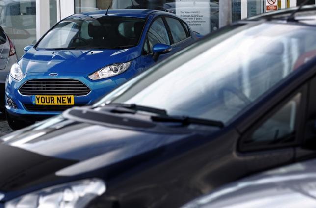 4月5日、英自動車工業会(SMMT)が発表した速報データによると、3月の国内自動車販売は前年同月比8%増加した。英国での自動車ナンバープレートの切り替え月にあたる3月は通常、1年のうちで最も販売が好調な月とされる。写真はロンドンで