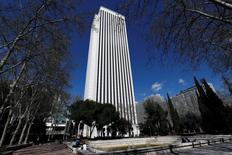 Torre Picasso, a 45-floor office building and first Inditex founder Amancio Ortega's first large-scale foray into the real estate market in 2011, is seen in Madrid, Spain. REUTERS/Juan Medina