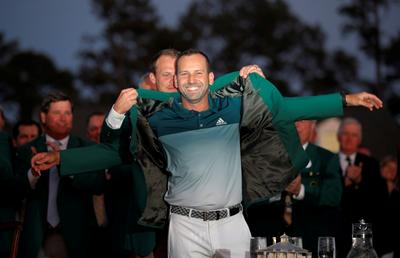 Garcia wins Masters Green Jacket
