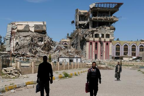 University of Mosul in ruins