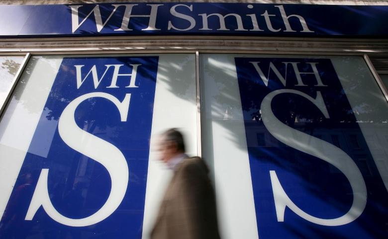 File photo of pedestrians walking past a WH Smith shop in London, Britain October 6, 2008. REUTERS/Alessia Pierdomenico/File Photo