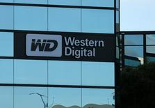 A Western Digital office building is shown in Irvine, California, U.S., January 24, 2017.   REUTERS/Mike Blake