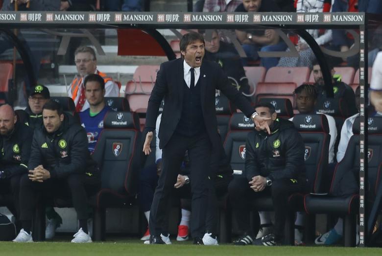 AFC Bournemouth v Chelsea - Premier League - Vitality Stadium - 8/4/17 Chelsea manager Antonio Conte  Reuters / Peter Nicholls Livepic