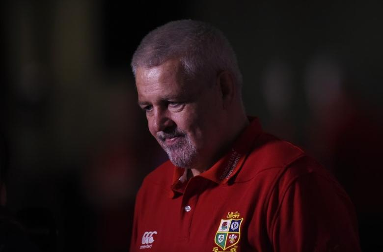 Rugby Union - British & Irish Lions Coaching Team Announcement - Carton House Hotel, Maynooth, Co. Kildare, Ireland - 7/12/16 British & Irish Lions head coach Warren Gatland during the announcement Reuters / Clodagh Kilcoyne Livepic