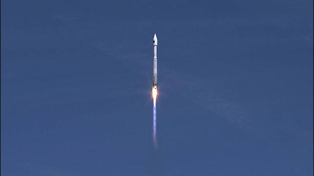 A United Launch Alliance Atlas V rocket lifts off carrying the Orbital ATK Cygnus pressurized cargo module from Cape Canaveral Air Force Station, Florida, United States April 18, 2017. NASA/Handout via REUTERSTHIS