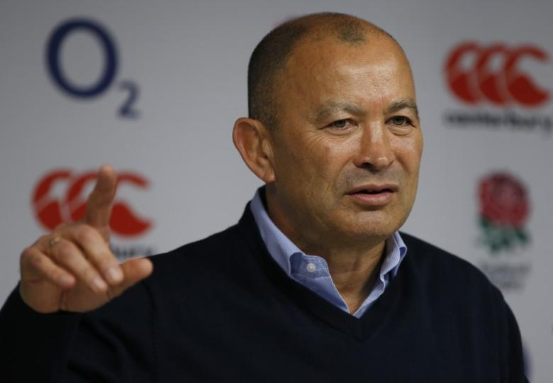 Britain Rugby Union - England - Eddie Jones Press Conference - Twickenham Stadium - 20/3/17 England head coach Eddie Jones during the press conference Action Images via Reuters / Paul Childs Livepic