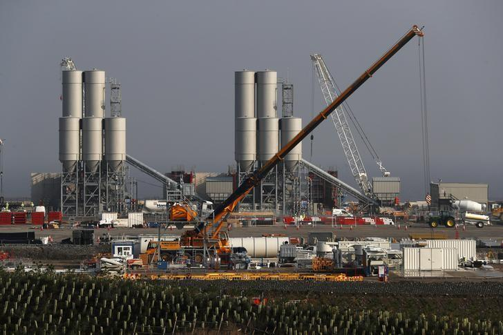 FILE PHOTO: Hinkley Point C nuclear power station site is seen near Bridgwater in Britain, September 14, 2016. REUTERS/Stefan Wermuth/File Photo