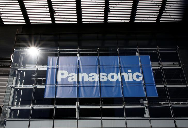 Panasonic Corp's logo is pictured at Panasonic Center in Tokyo, Japan, February 2, 2017.  REUTERS/Kim Kyung-Hoon/Files
