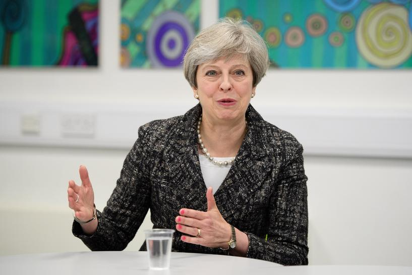 British PM May says June election result 'not certain'