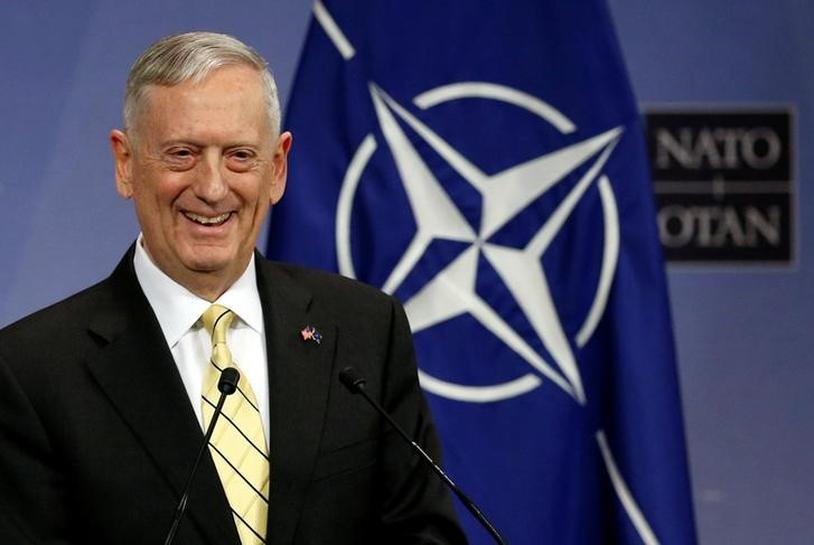 U.S. defense secretary in Afghanistan as U.S. looks to craft policy