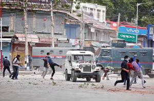 Unrest in Kashmir