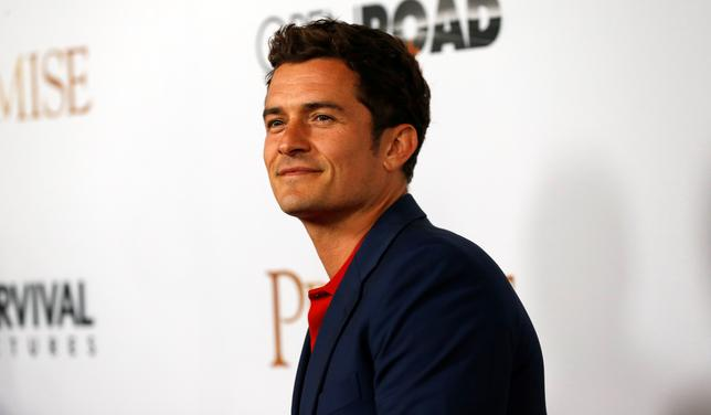 Actor Orlando Bloom. REUTERS/Mario Anzuoni