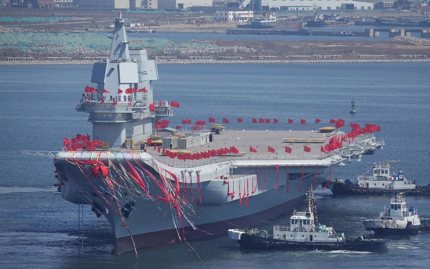 China flags global naval role after new carrier launch