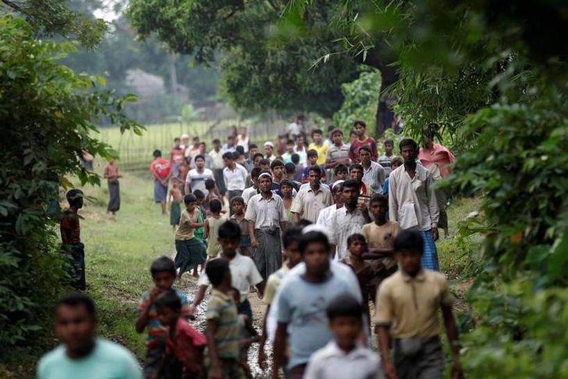 Exclusive - U.N. criticises Myanmar plan to resettle Rohingya in