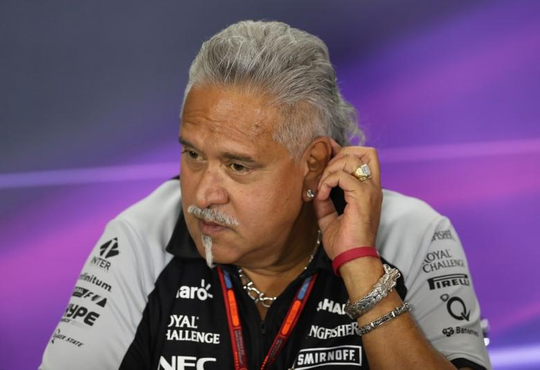 Britain Formula One - F1 - British Grand Prix 2016 - Silverstone, England - 8/7/16Force India team principal Vijay Mallya during the press conferenceAction Images via Reuters / Matthew ChildsLivepicEDITORIAL USE ONLY.
