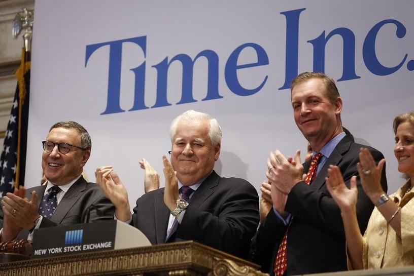 Time Inc says not to sell itself, shares plunge