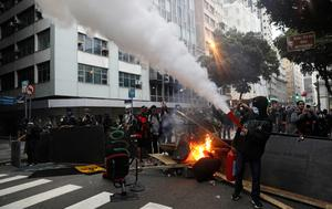 Brazil on strike