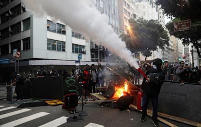 Brazil on strike