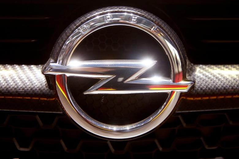 FILE PHOTO: The logo of Opel is seen during the 87th International Motor Show at Palexpo in Geneva, Switzerland March 7, 2017. REUTERS/Arnd Wiegmann