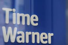 FILE PHOTO: A Time Warner logo is seen at a Time Warner store in New York City, October 23, 2016. REUTERS/Stephanie Keith/File Photo