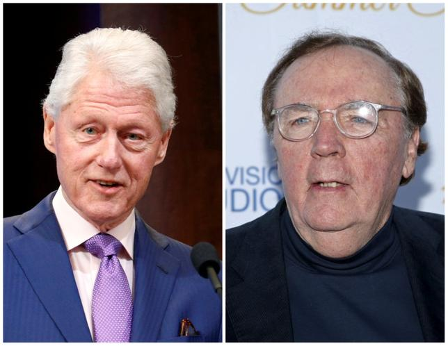 A combination photo shows Former President Bill Clinton (L) and Author James Patterson (R) in Washington, DC, U.S, on March 9, 2017 and in West Hollywood, California, U.S. on May 18, 2015 respectively. REUTERS/Kevin Lamarque (L) and Danny Moloshok (R)/File Photos