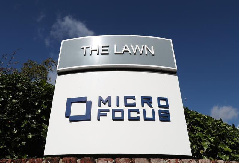 Micro Focus shares