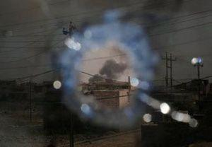 Smoke is seen as members of Iraqi Rapid response forces clash with Islamic State fighters, in north west of Mosul, Iraq, May 9, 2017. REUTERS/Danish Siddiqui