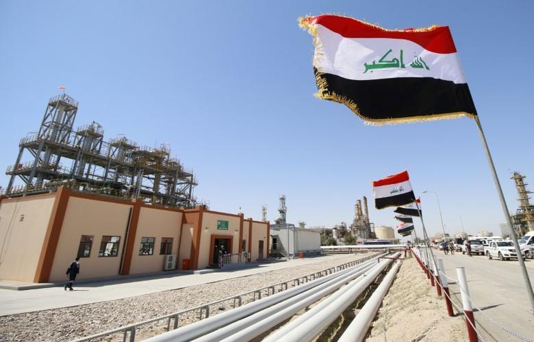 FILE PHOTO: A view shows the al-Shuaiba oil refinery in Basra, Iraq, April 20, 2017.   REUTERS/Essam Al-Sudani/File Photo