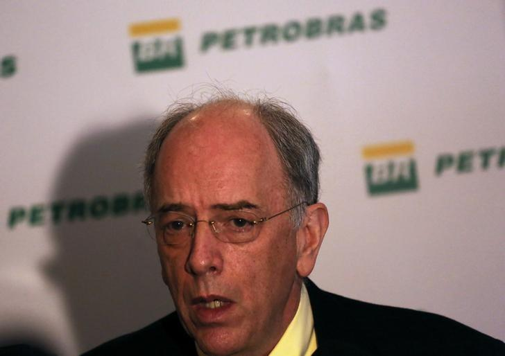 Brazil's state-run oil company Petroleo Brasileiro SA Chief Executive Officer Pedro Parente talks during a news conference in Rio de Janeiro, Brazil, January 11, 2017. REUTERS/Nacho Doce