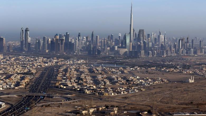 Burj Khalifa, the world's tallest tower, is seen in a general view of Dubai, UAE December 9, 2015. Picture taken December 9, 2015. REUTERS/Karim Sahib/Pool