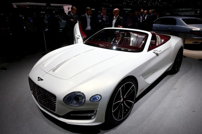 FILE PHOTO: Bentley EXP 12 Concept car is seen during the 87th International Motor Show at Palexpo in Geneva, Switzerland, March 7, 2017. REUTERS/Arnd Wiegmann/File Photo
