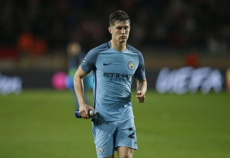 Soccer Football - AS Monaco v Manchester City - UEFA Champions League Round of 16 Second Leg - Stade Louis II, Monaco - 15/3/17 Manchester City's John Stones looks dejected after the game   Action Images via Reuters / Andrew Couldridge Livepic