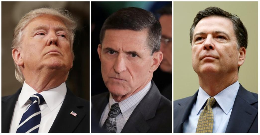 Trump asked then-FBI Director James Comey to end the agency's investigation into ties between former White House national security adviser Michael Flynn and Russia, according to a source who has seen a memo written by Comey.