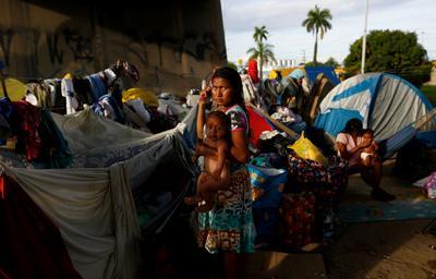 Venezuela's indigenous flee crisis for Brazil