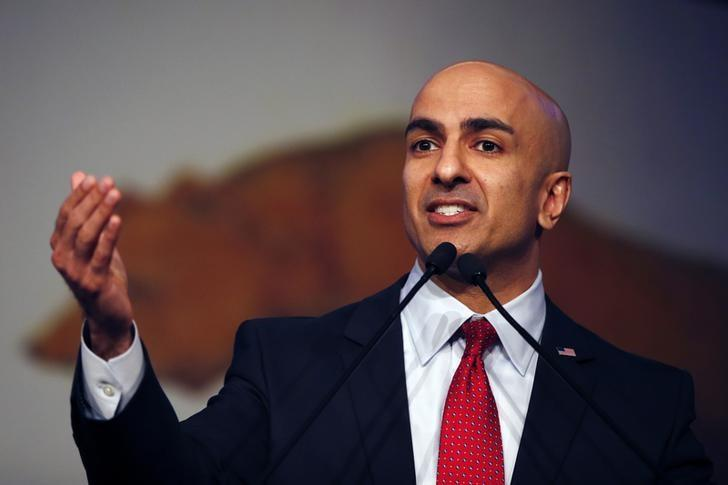 California Republican gubernatorial primary candidate Neel Kashkari speaks on stage during the California Republican Party Spring Convention in Burlingame, California March 16, 2014  REUTERS/Stephen Lam (UNITED STATES - Tags: POLITICS)