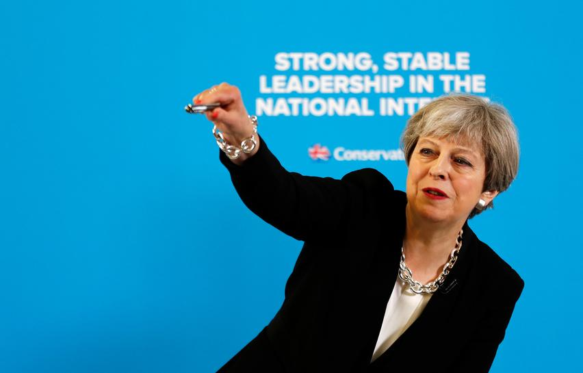 UK PM's pitch to voters: market intervention, welfare cuts, looser fiscal policy