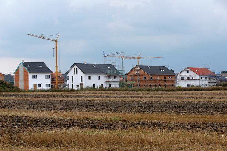 General view at construction site of residential building in Olching near Munich, Germany August 18, 2016. REUTERS/Michaela Rehle