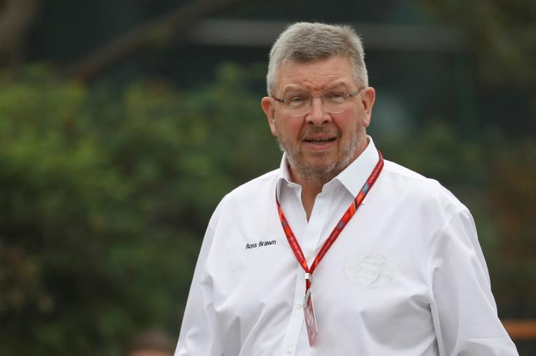 FILE PHOTO: Formula One - F1 - Chinese Grand Prix - Shanghai, China - 6/4/17 - Formula One Managing Director of Motorsports Ross Brawn walks at the Shanghai International Circuit ahead of the Chinese F1 Grand Prix.  REUTERS/Aly Song/File Photo