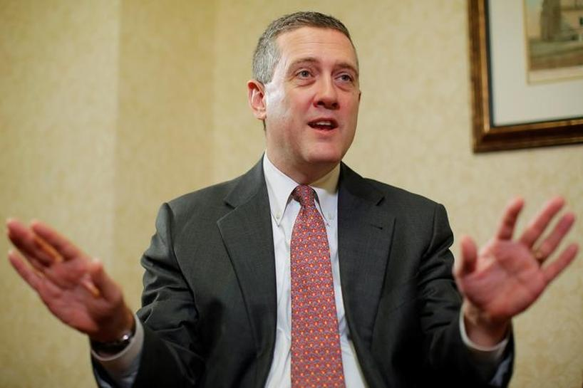 St. Louis Fed's Bullard says expected rate hikes