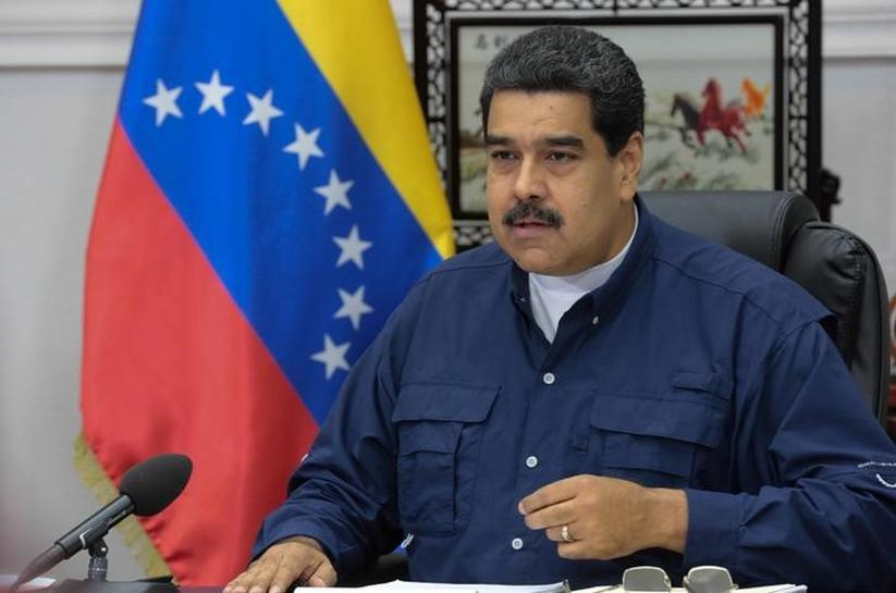 Maduro to Trump: 'Get your dirty hands off Venezuela!'